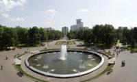 Москва, парк Сокольники веб камера